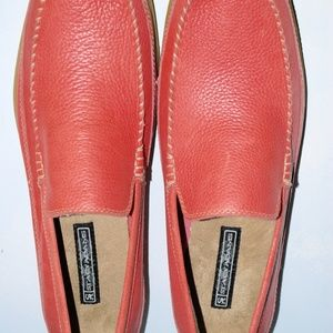 Other - Stacie Adams Mens Pink Loafers Size 15M